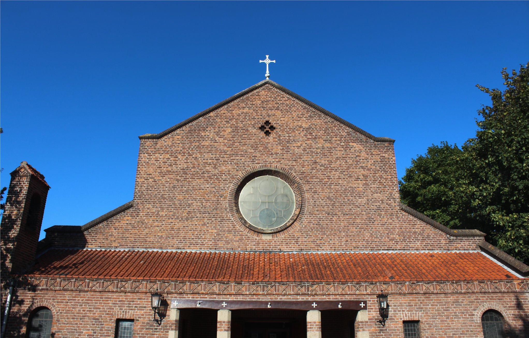 dominicuskerk in ochtend