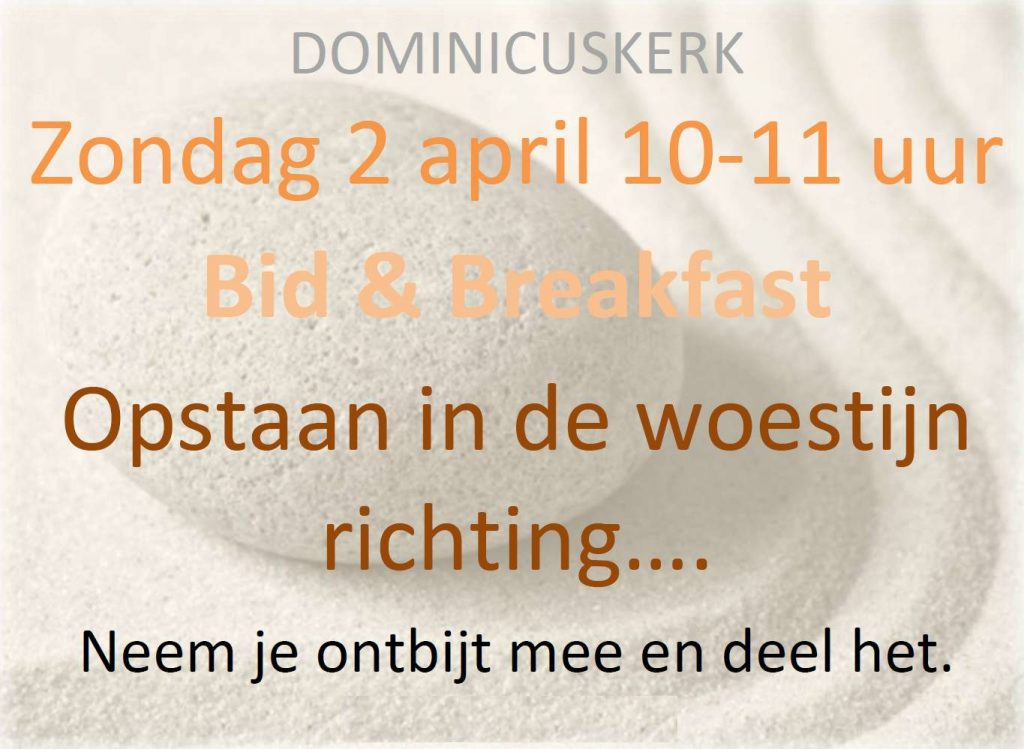 Flyer Bid & Breakfast 2 april