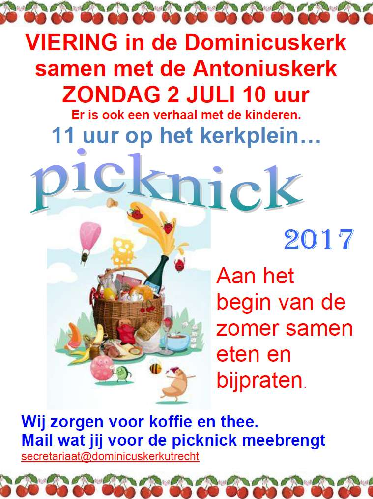 Flyer picknick 2017