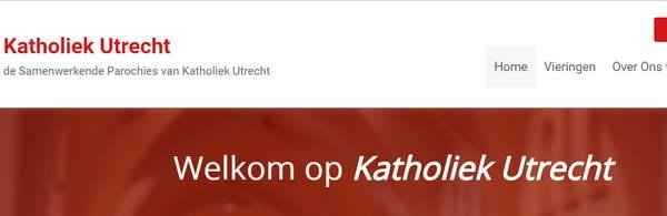 Banner website Katholiek Utrecht