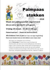Poster Palmpasenstokken 2018