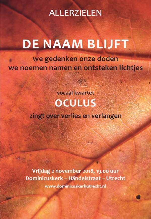 Foto poster Allerzielen - 2 november 2018, 19.00 uur
