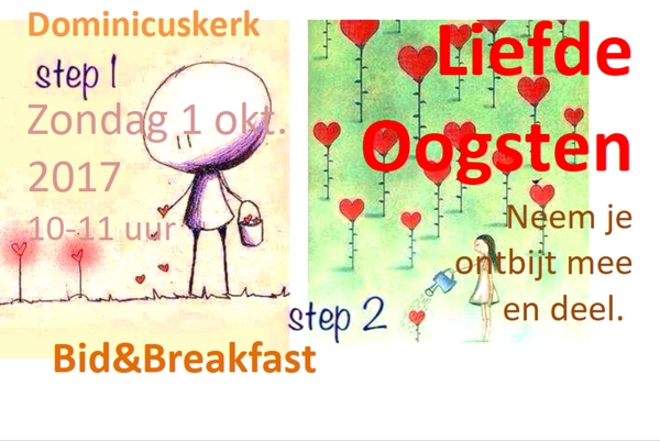 Flyer Bid & Breakfast oktober 2017