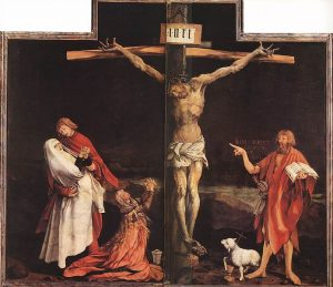 Matthias, Grünewald, Kruisiging - Isnehiemer Altar, Musée Unterlinden, Colmar