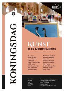 Flyer Kunst op Koninsdag 2019