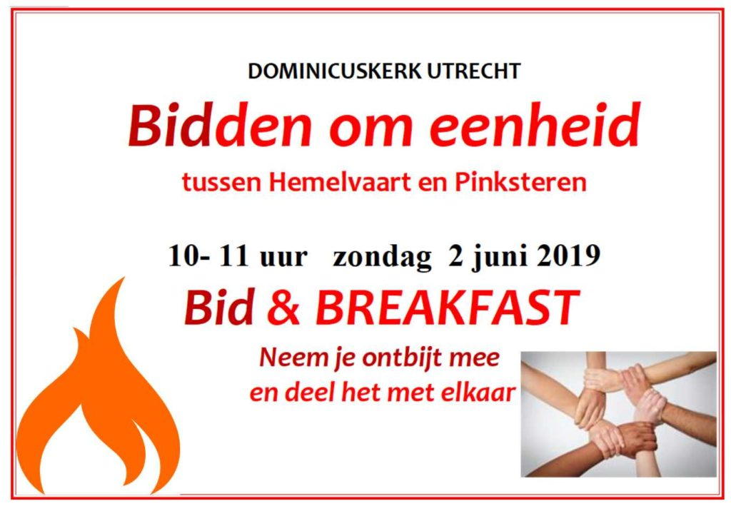 Flyer Bid & Breakfast 2 mei 2019-remix