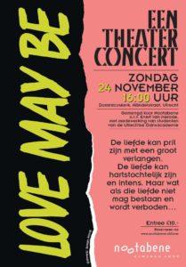 Fl\yer concert Nootabene 24-11-2019