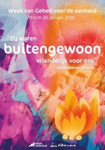 Poster Week van de Eenheid der Kerken 2020